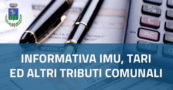 Informativa IMU, TARI ed altri Tributi comunali anno 2021